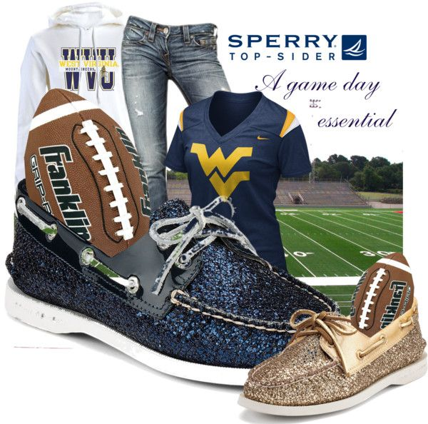 """""""Weekend Wear with Sperry Top-Sider"""" by garbowvu ❤ liked on Polyvore"""