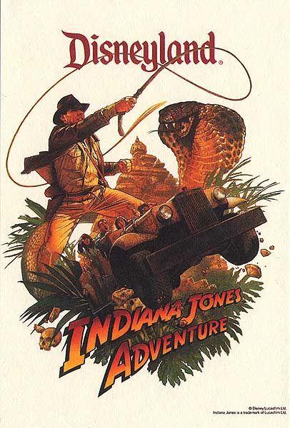 Indiana Jones Adventure Poster