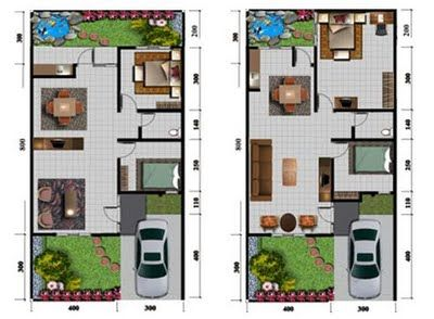 Rumah Minimalis Modern Type Rumah Minimalis