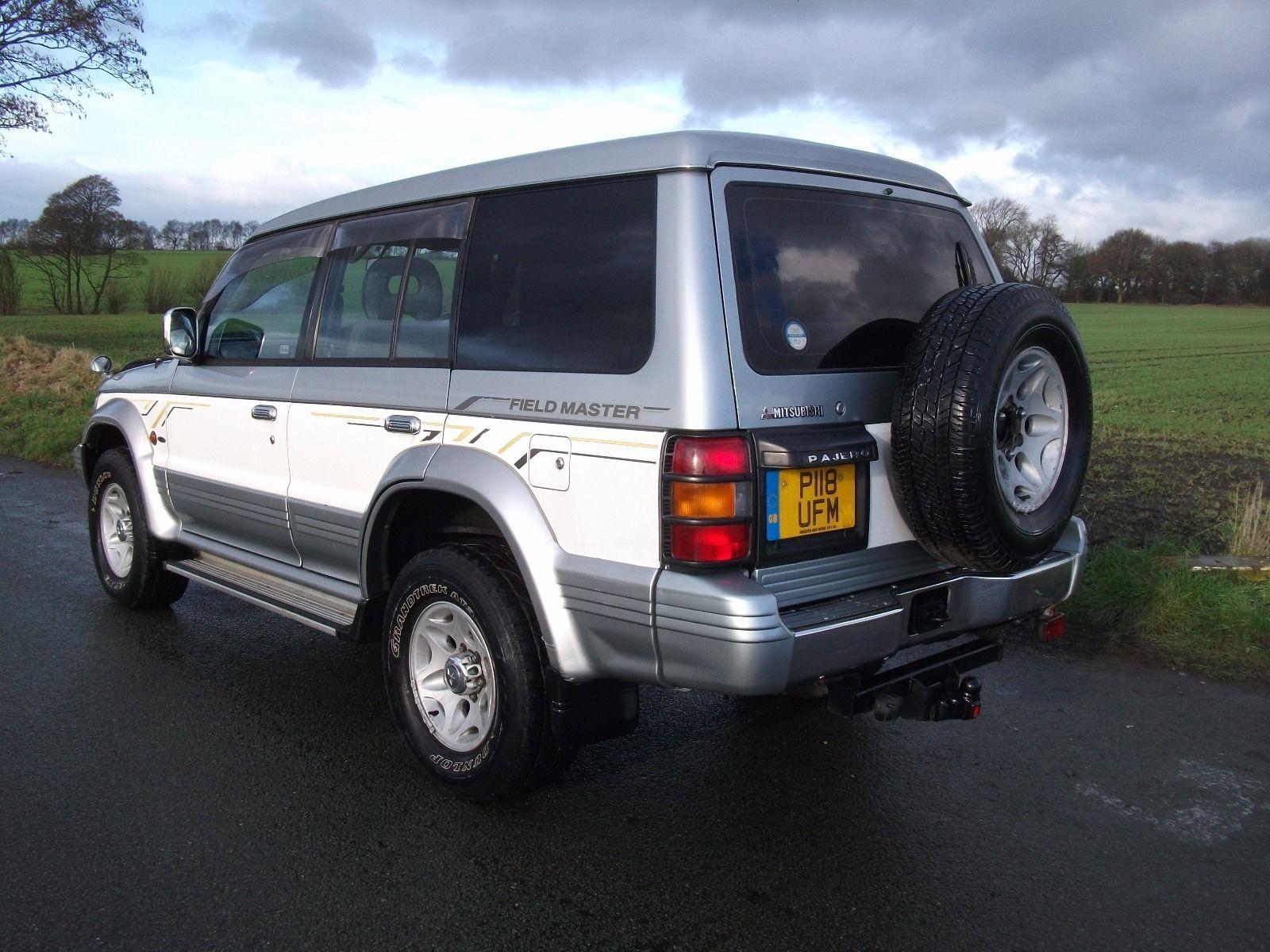 1997 mitsubishi pajero fieldmaster 2.8td silver/white   Mitsubishi