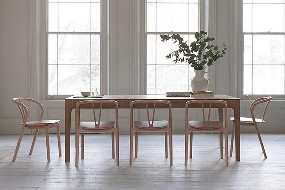 moderne möbel und accessoires im shaker-stil: esszimmer-serie, Esszimmer dekoo
