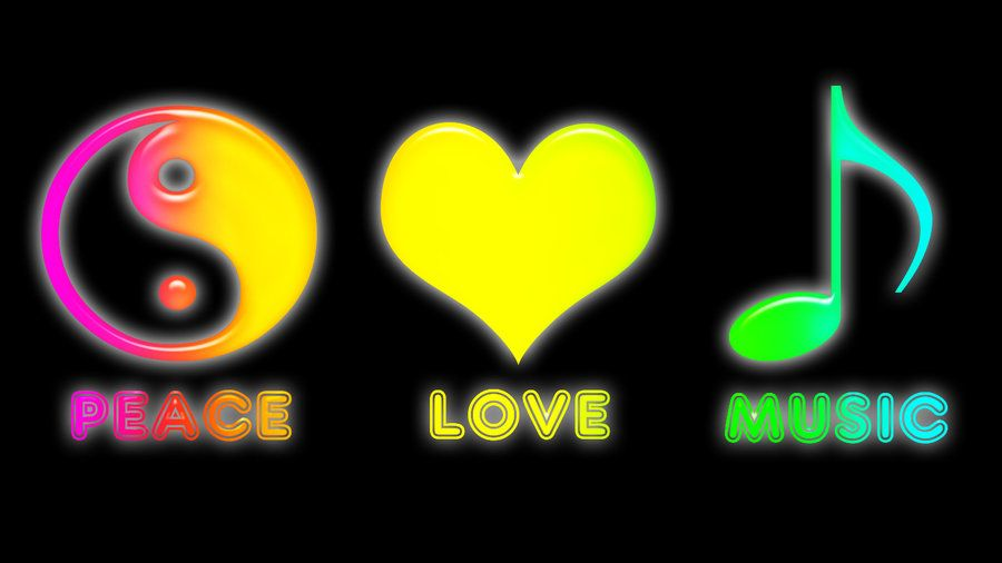 Peace Love Music Muzyka