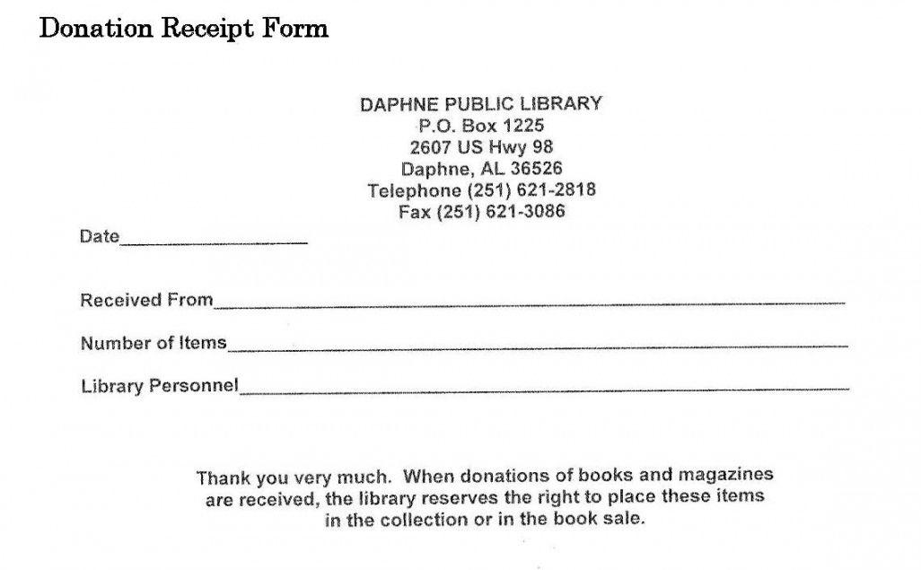 Explore Our Free School Donation Receipt Template School Donations Receipt Template Receipt