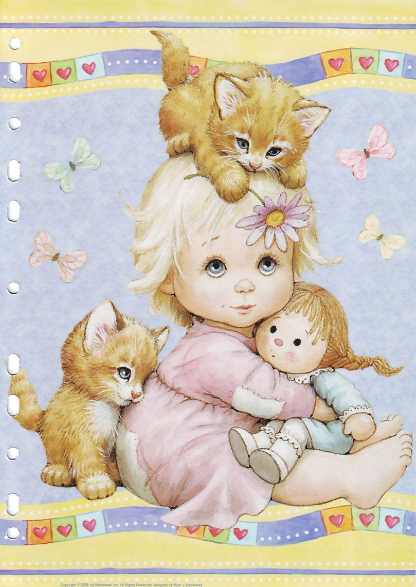 Открытки с детским рисунком
