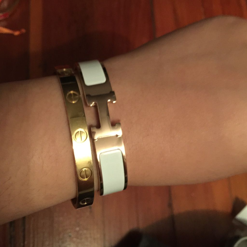 Goldwhite h bracelet bracelets and products