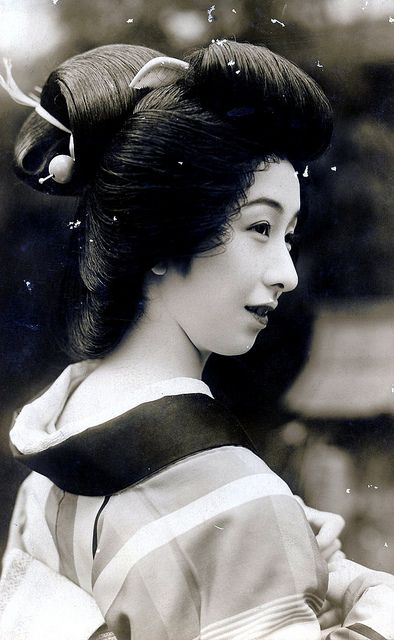 Coral Kanzashi 1930's