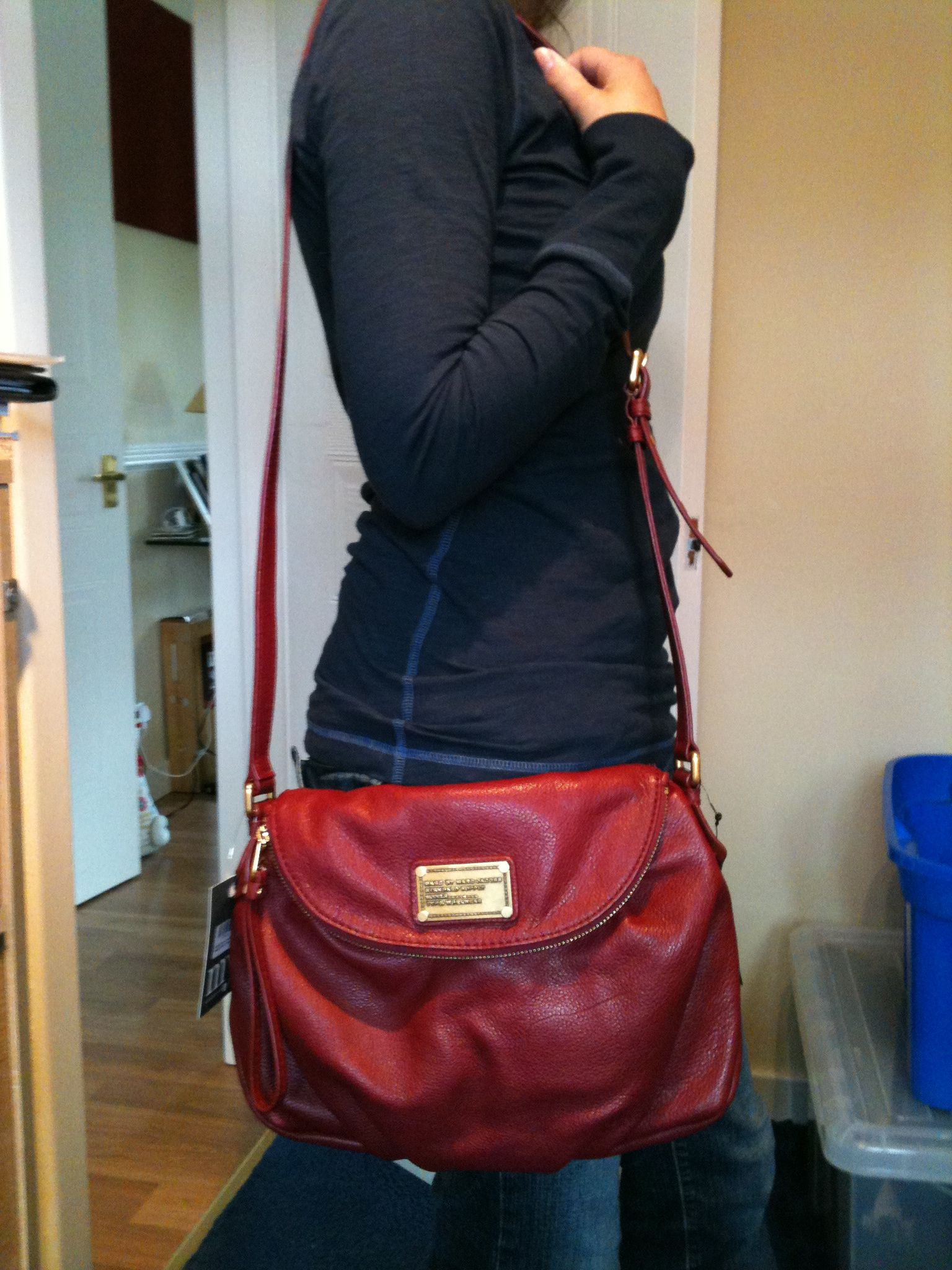 aefd79cfd779 My Marc by Marc Jacobs Natasha Classic Q in  chianti .