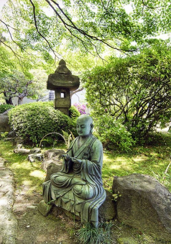 Awesome Buddha Statue for Garden Decorations is part of Japan garden, Buddha garden, Chinese garden, Zen garden, Buddha statue garden, Sacred garden - Statues are a simple and appealing element which can be added to any garden  They are ideal for enhancing the appearance of the garden and turn it into the perfect place to retreat to for some peace and relaxation  If you adore the Laughing Buddha energy and wish to purchase a statue for your house garden