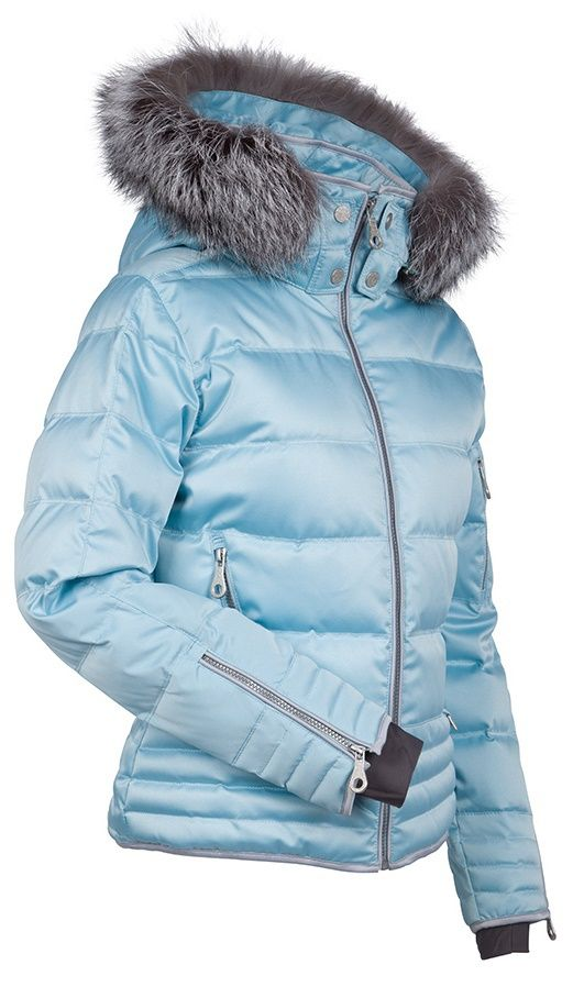 Nils Women's Larisa Ski Jacket with real fur