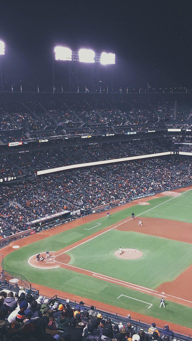Baseball Park City Sports Life Wallpaper Hd Iphone Baseball Park Baseball Wallpaper Baseball Field
