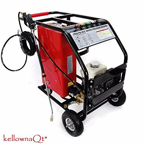 3000psi Portable Lpg Gas Hot And Cold Water Pressure Washer