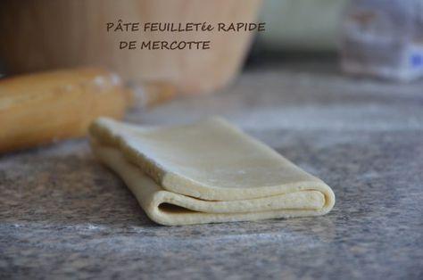 pâte feuilletée rapide de Mercotte #patefeuilleteerapide
