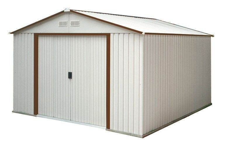 Beautiful 10x12 Cape Garden Shed From Liberty Storage Solutions Vinyl Sheds Shed Vinyl Storage Sheds