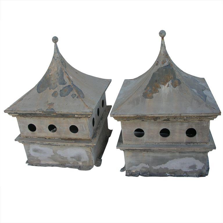 Pair 1940 S Rooftop Cupolas 1stdibs Com Cupolas Fibreglass Roof Architectural Elements