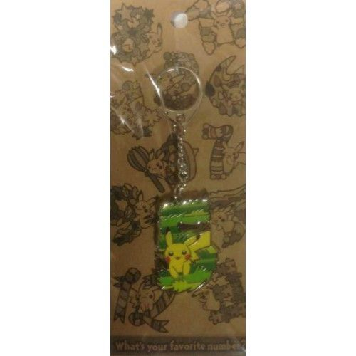Pokemon Center 2014 Pikachu Metal Keychain Version #5