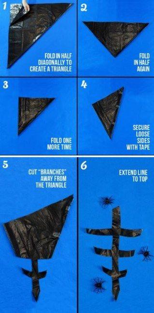Schaurig schön: 10 Halloween DIY-Ideen, die du ganz einfach mit deinen Kindern nachmachen kannst #spinnennetzbasteln
