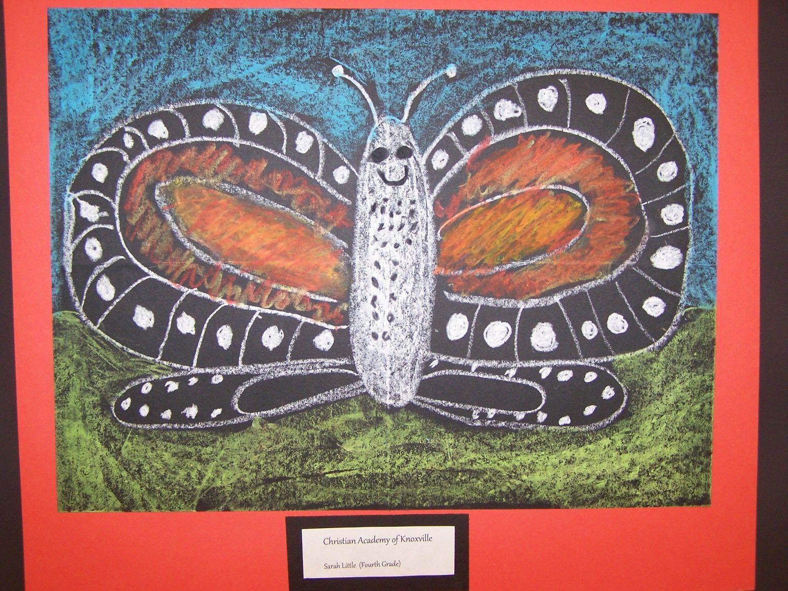 4th Grade Oil Pastel Cak Mrs Barton