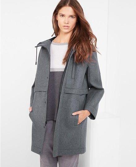 пальто из неопрена модные коллекции дизайнеров