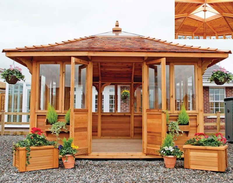 Screened Gazebo Design By Chicago Area Gazebo Builder Design