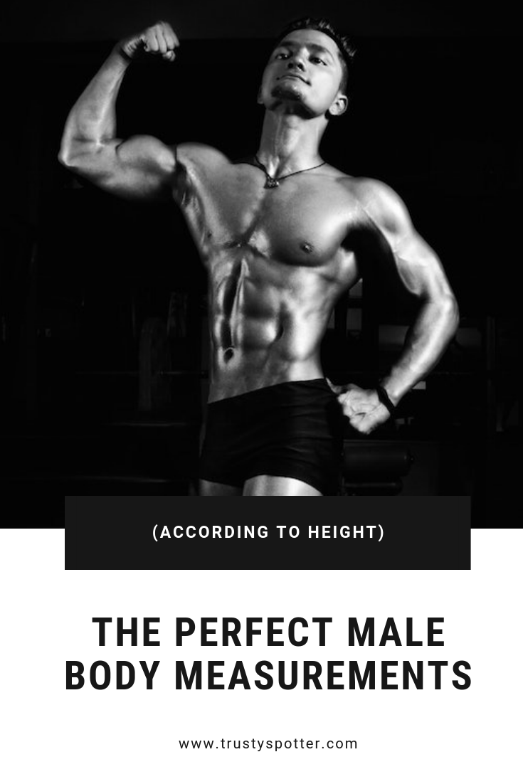 Perfect Male Body Measurements According to Height (and how to