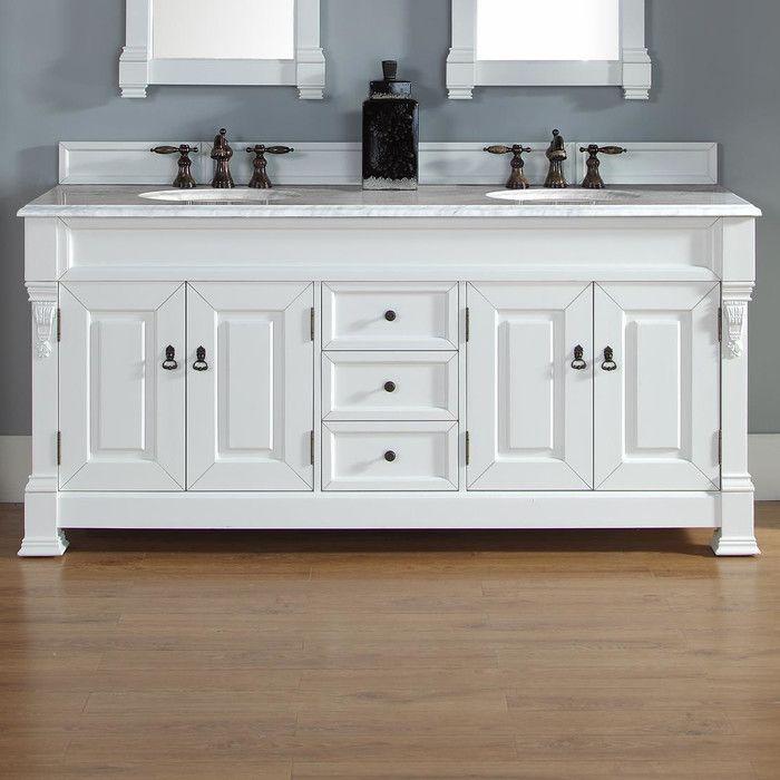 james martin furniture brookfield 72 double cottage white bathroom rh pinterest com Bath Vanities Contemporary Bathroom Vanities