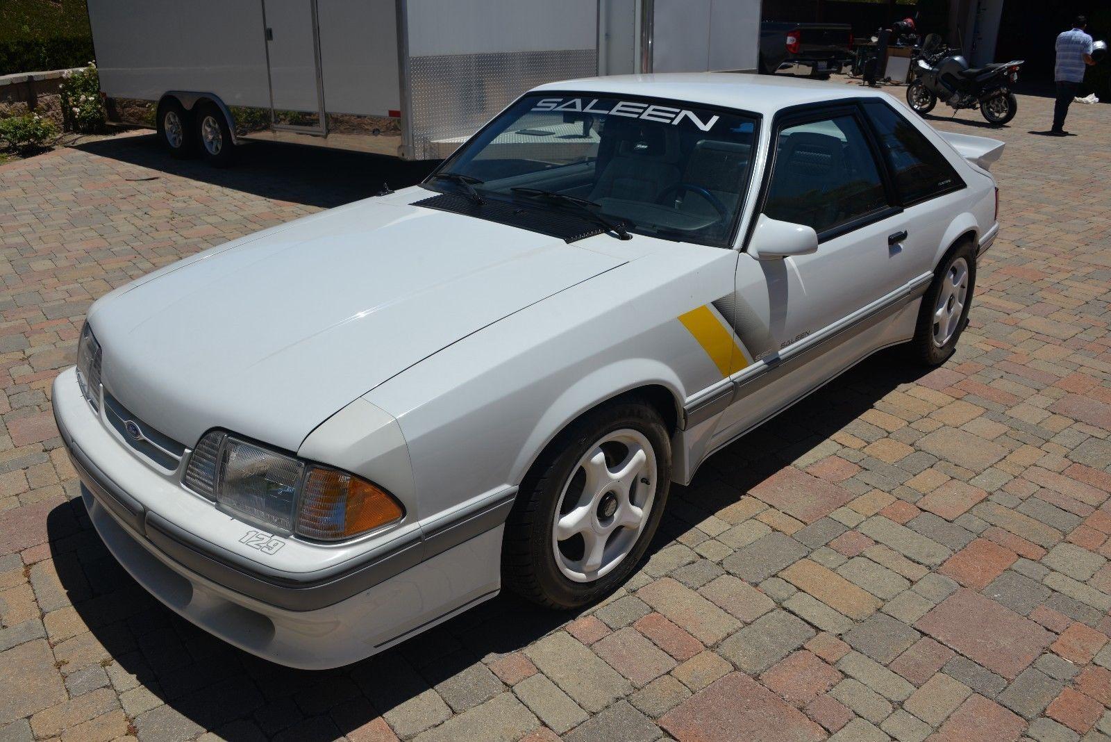 ebay 1989 ford mustang 1989 ford mustang saleen ssc 129 rh pinterest com au
