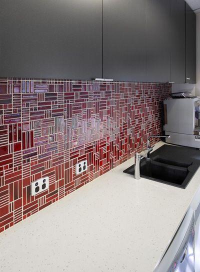 Keeping Your Kitchen Splashback In The Red Kitchensplashback