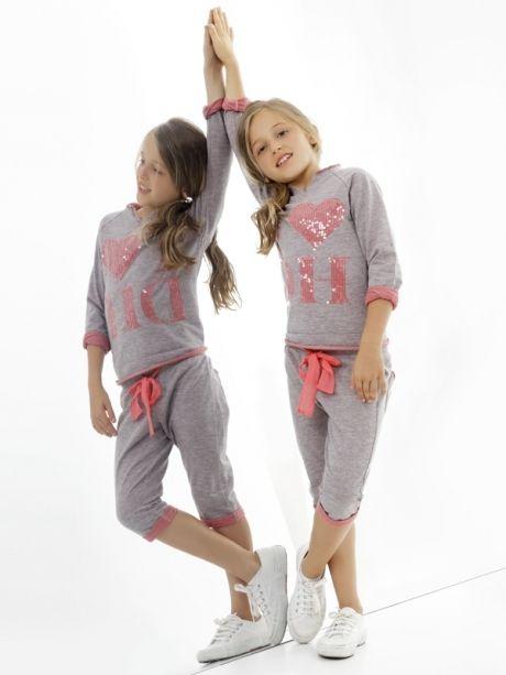 Deha ropa informal con toque deportivo para niñas #yogaypilates