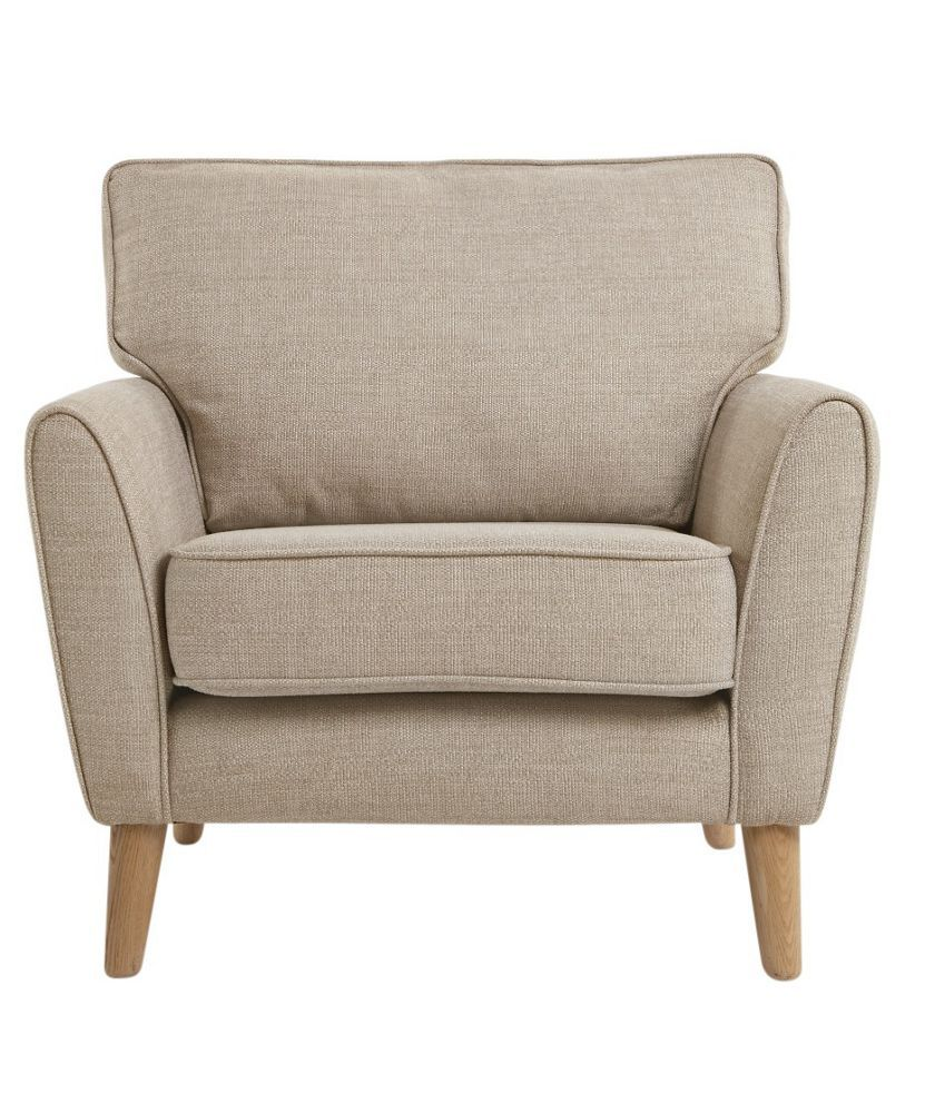 Buy Heart Of House Azure Fabric Chair Natural At Argos Co Uk  # Muebles Vassily