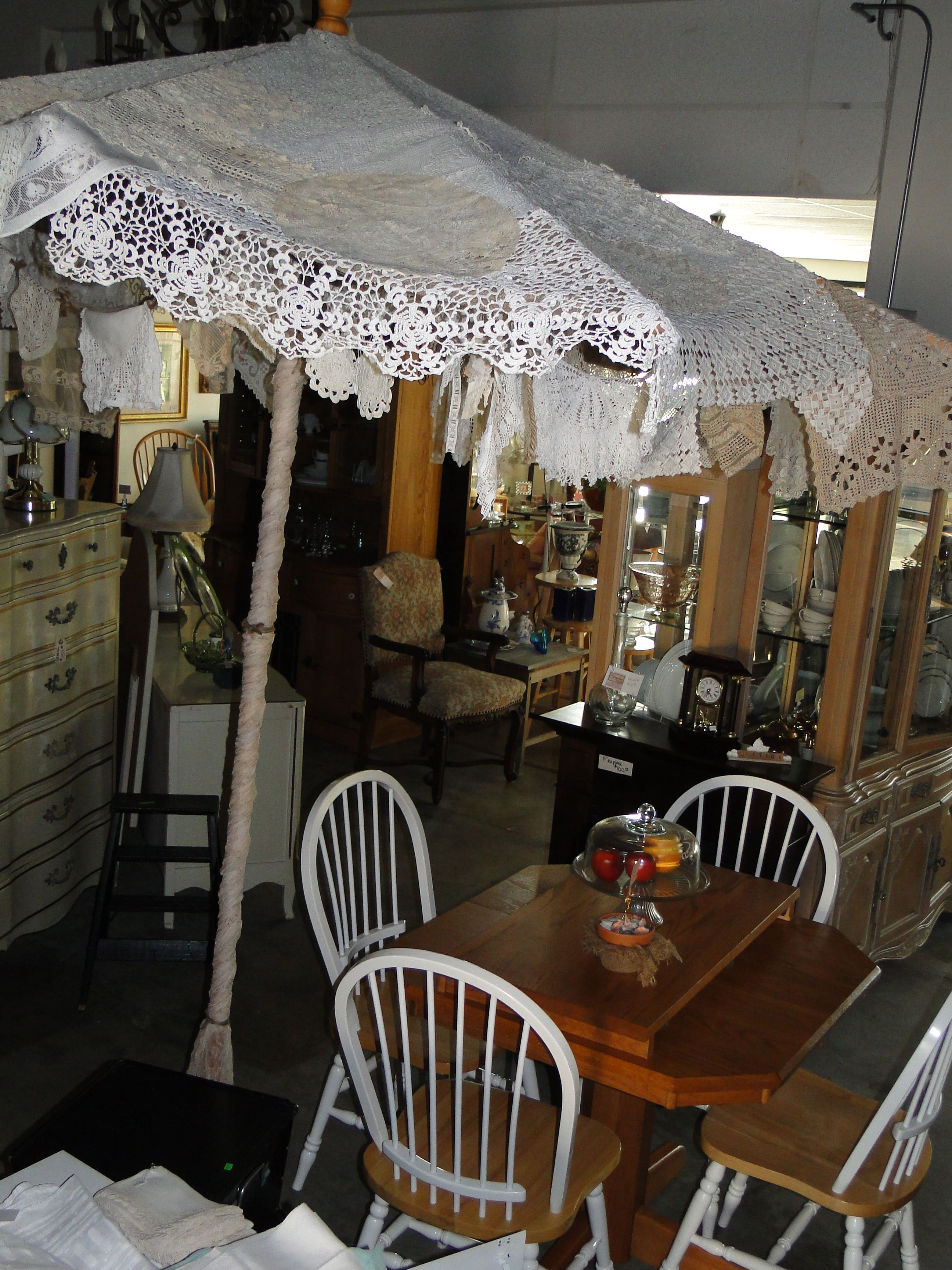 Pin By Upcycled Home Garden On Products Upcycled Outdoor Umbrella Covers Shabby Chic Garden Patio Umbrellas