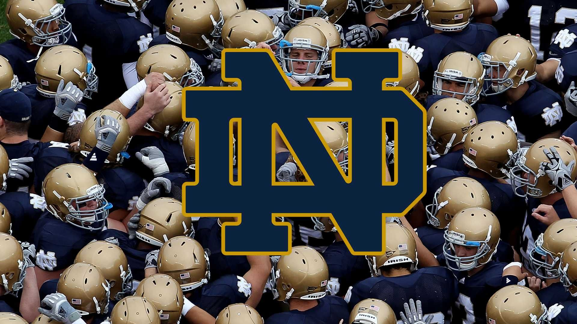 Notre Dame Fighting Irish Football Wallpapers (With images