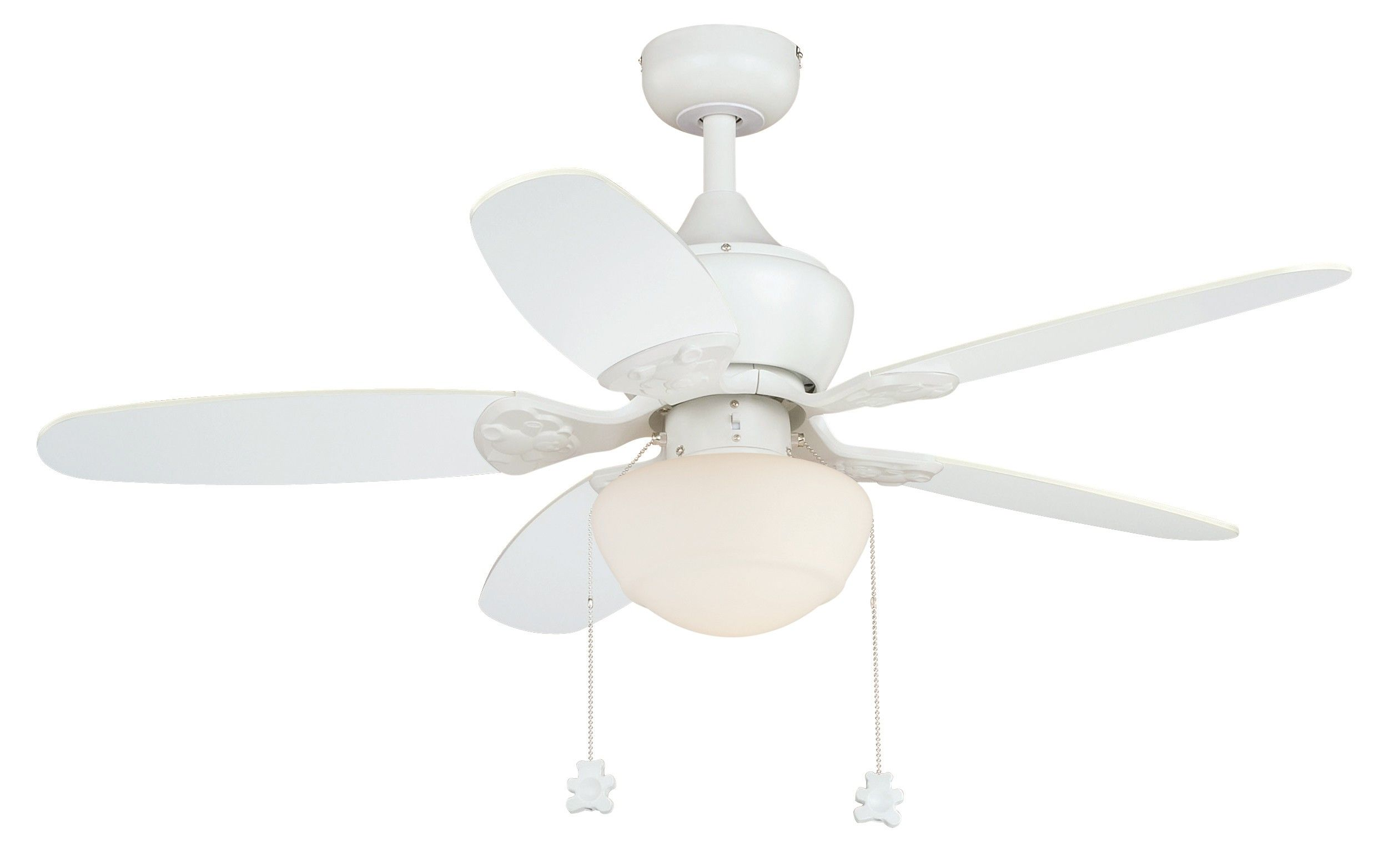 Vaxcel Lighting F0036 Alex 44 Ceiling Fan White