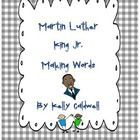 Martin Luther King Jr. Making Words #famousspeeches ON SALE NOW!  Children will cut apart the letters from Martin Luther King Jr.'s famous speech, I Have A Dream to try and make new words.  First they will have ... #famousspeeches