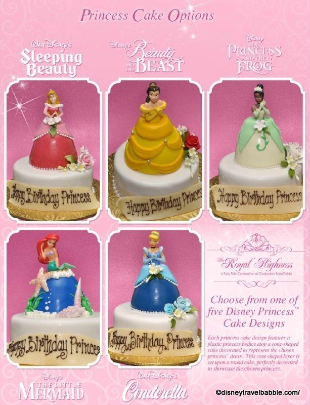 Disney World Offers Princess Cakes For A Pretty Penny Disney Food