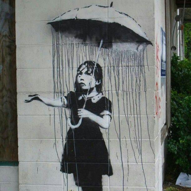 Banksy. Photo by kprags