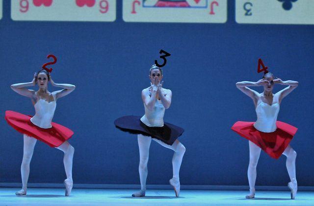 Royal Ballet School Alice In Wonderland Alice Adventures In