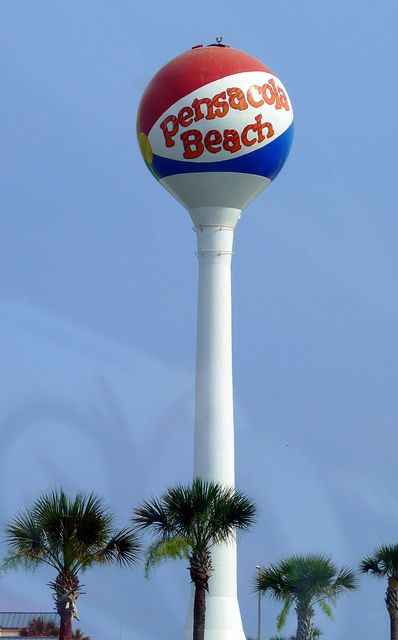 Beach Ball, Pensacola. Florida via Flickr
