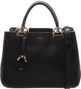 2f99816484 AREZZO Bolsa Tote Couro Abraccio Preta - Descrição A maxibolsa tote em couro  preto