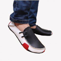 2510 trendy western style men's spring casual shoes with