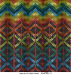 Knitted Pattern Texture design. Abstract Background.
