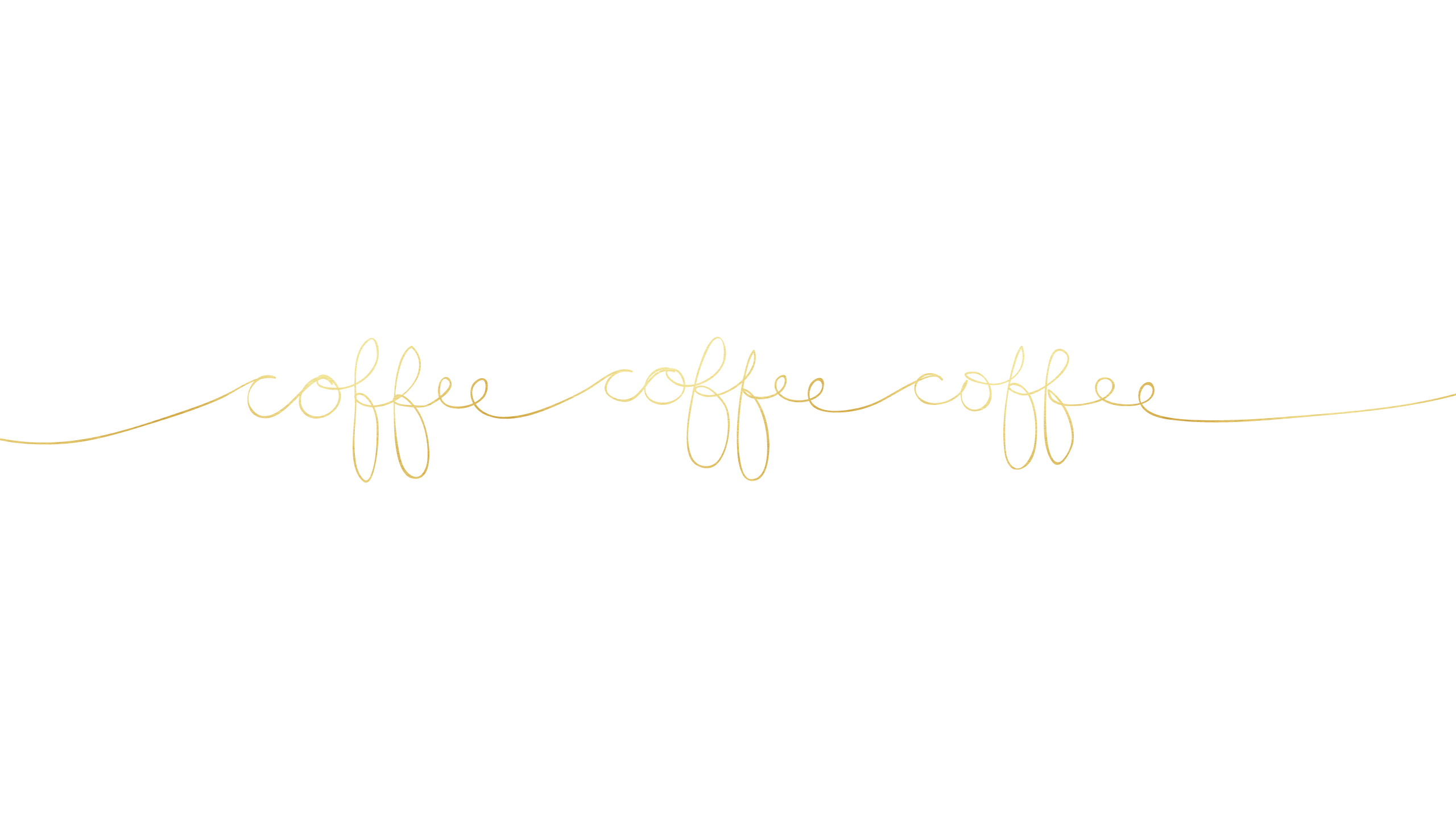 Coffee Minimalist Desktop Wallpaper Gold 8930 2560x1440 Pixels
