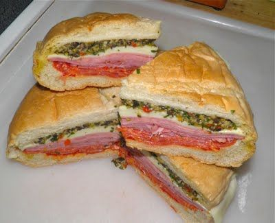 Devoid Of Culture And Indifferent To The Arts: Picnic Recipe: Muffaletta, the sandwich you sit on