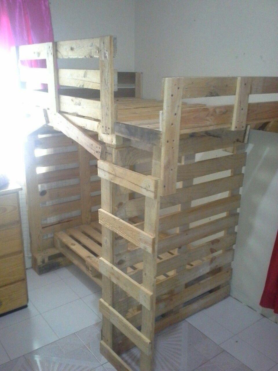 Best Pallet Bunk Bed For My Kids Cost Kids Pallet 400 x 300