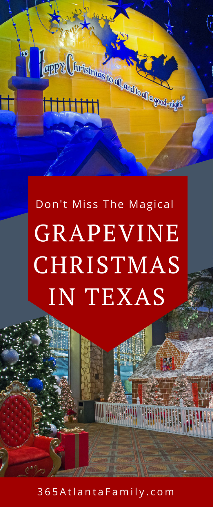 Don't Miss The Magical Grapevine Christmas In Texas