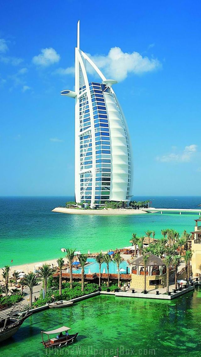 Dubai Burj Al Arab Wallpaper For Iphone 5 6 Plus Dubai