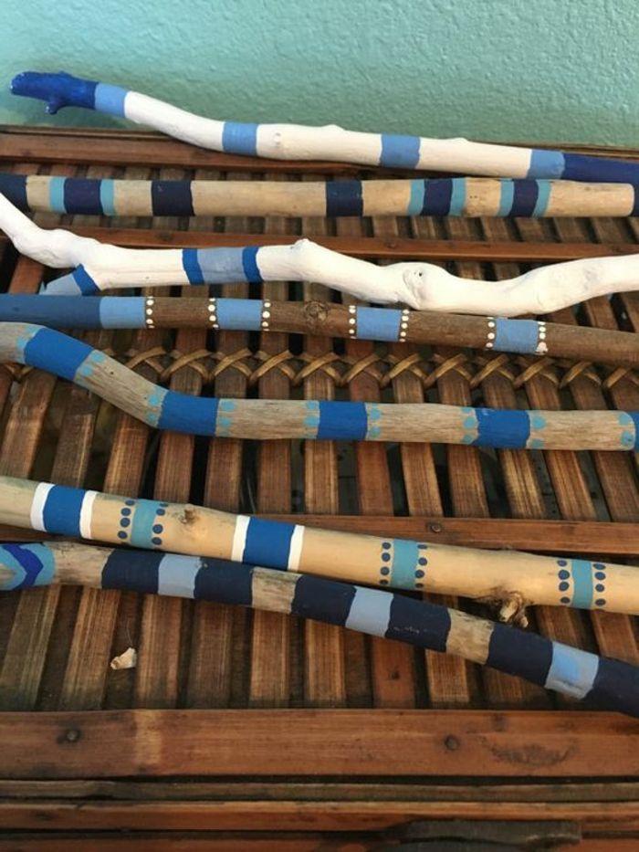 ▷ 1001+ pièces de bois flotté peint
