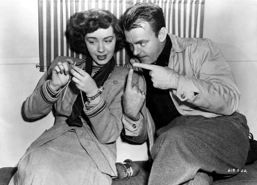 :: Because Knitting is So Hollywood…. knitter, vintage, history, hands, fingers, focus, concentration, crafting, beauty, photo b/w.