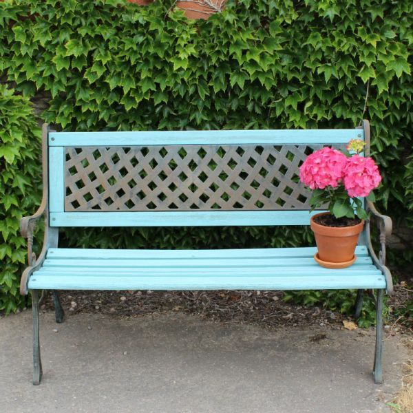 Painted Benches Ideas Part - 23: Wrought Iron Garden Bench Meet Savannah A Beautiful Victorian Wrought .