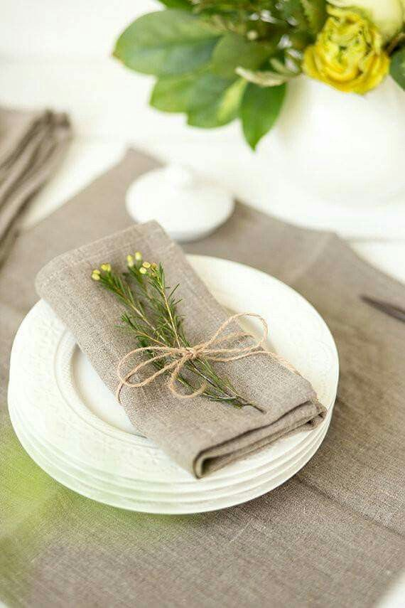 Pin by Shelly Swendsen on Place cards | Linen napkins ...