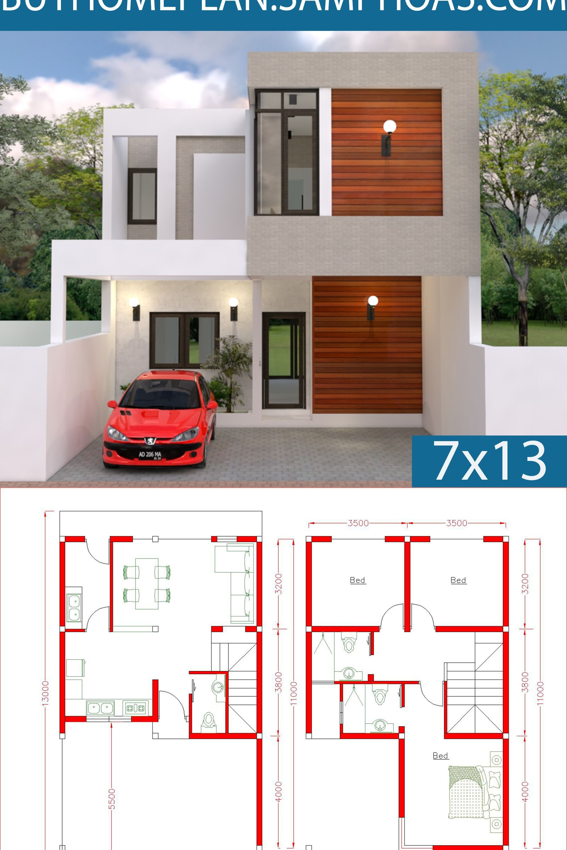 Pin By Jeremy On Gác Kung Home Design Plans Duplex House Design Little House Plans